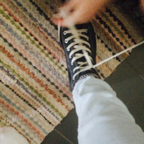 sko som snöras