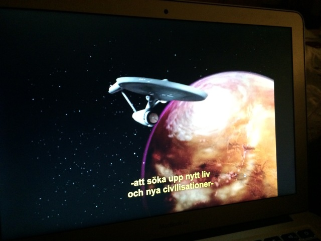 rymdskeppet Enterprise i Star Trek