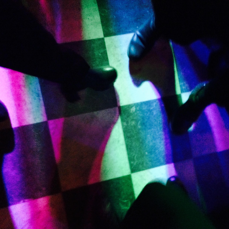 skor på dansgolv